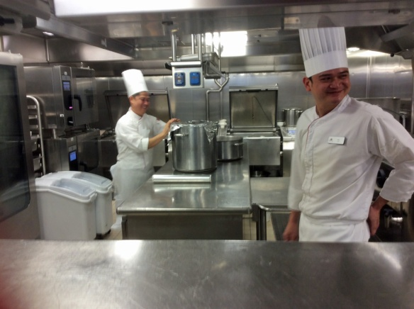 Galley cooks in Manfredi's galley