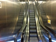 Galley escalator to MDR
