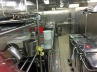 Galley Manfredi's dish pit
