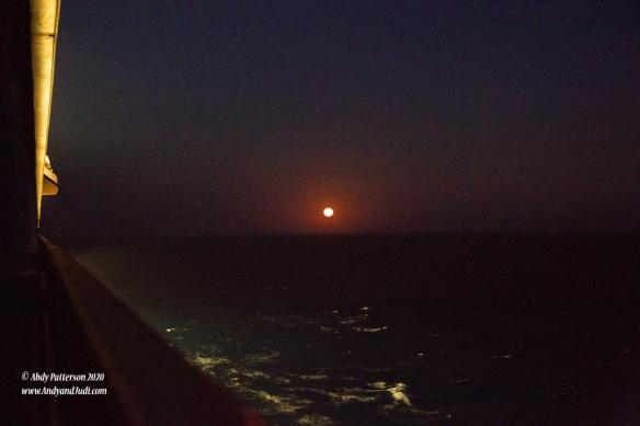 Moon rise April 9th PM