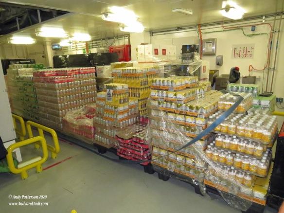 Soft drinks storage